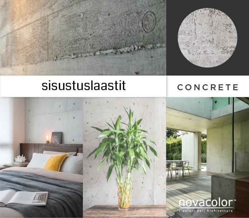 Novacolor Archi+ Concrete -sisustuslaastit