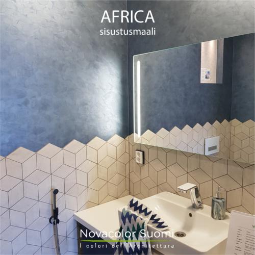 Novacolor Metallics Africa - efektimaali FEZ, Porin asuntomessut 2018