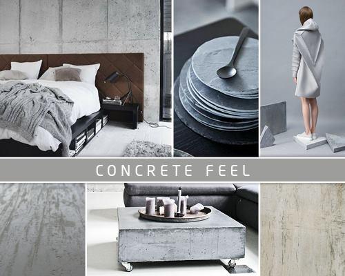 Concrete feel, Novacolor Archi+ sisustuslaasti