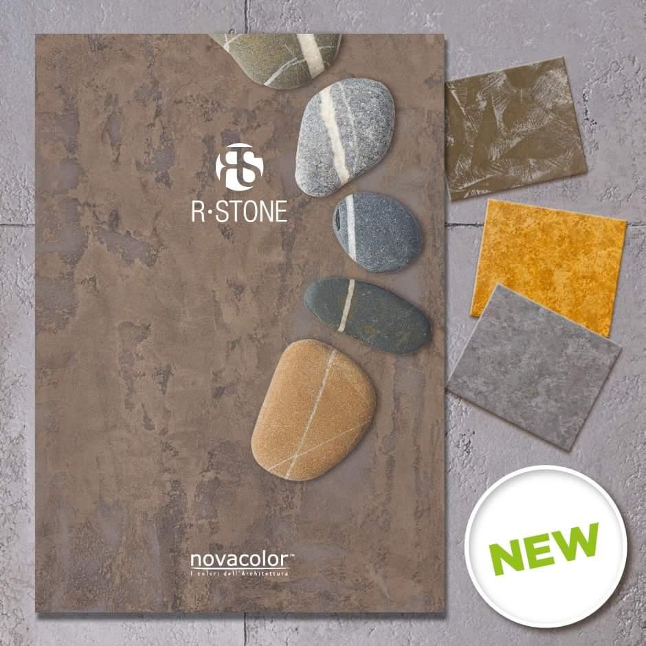 Novacolor R-Stone - sisustuspinnoite