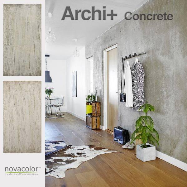 Sisustuslaastit | ARCHI+ Concrete - sisustuslaasti eteisessa