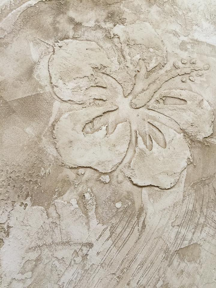 Novacolor CALCECRUDA -sisustuslaasti kukka