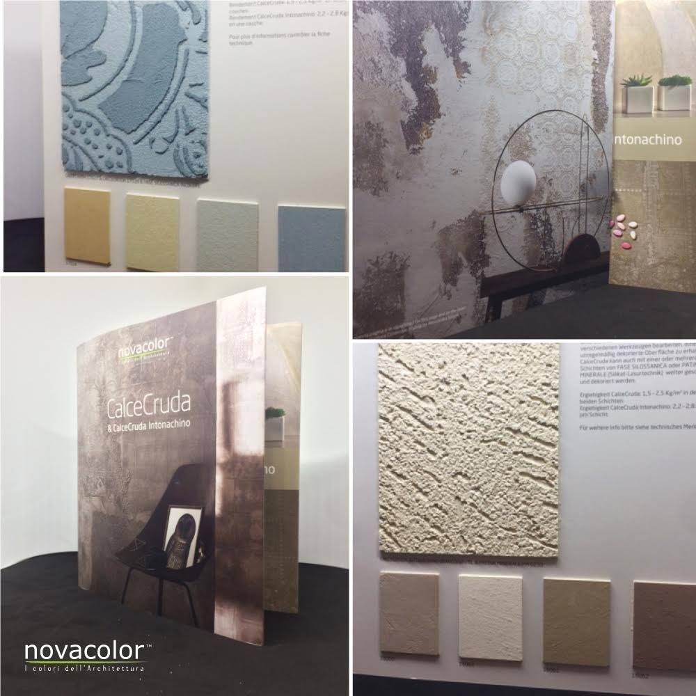 Novacolor CALCECRUDA -sisustuslaasti katalogi
