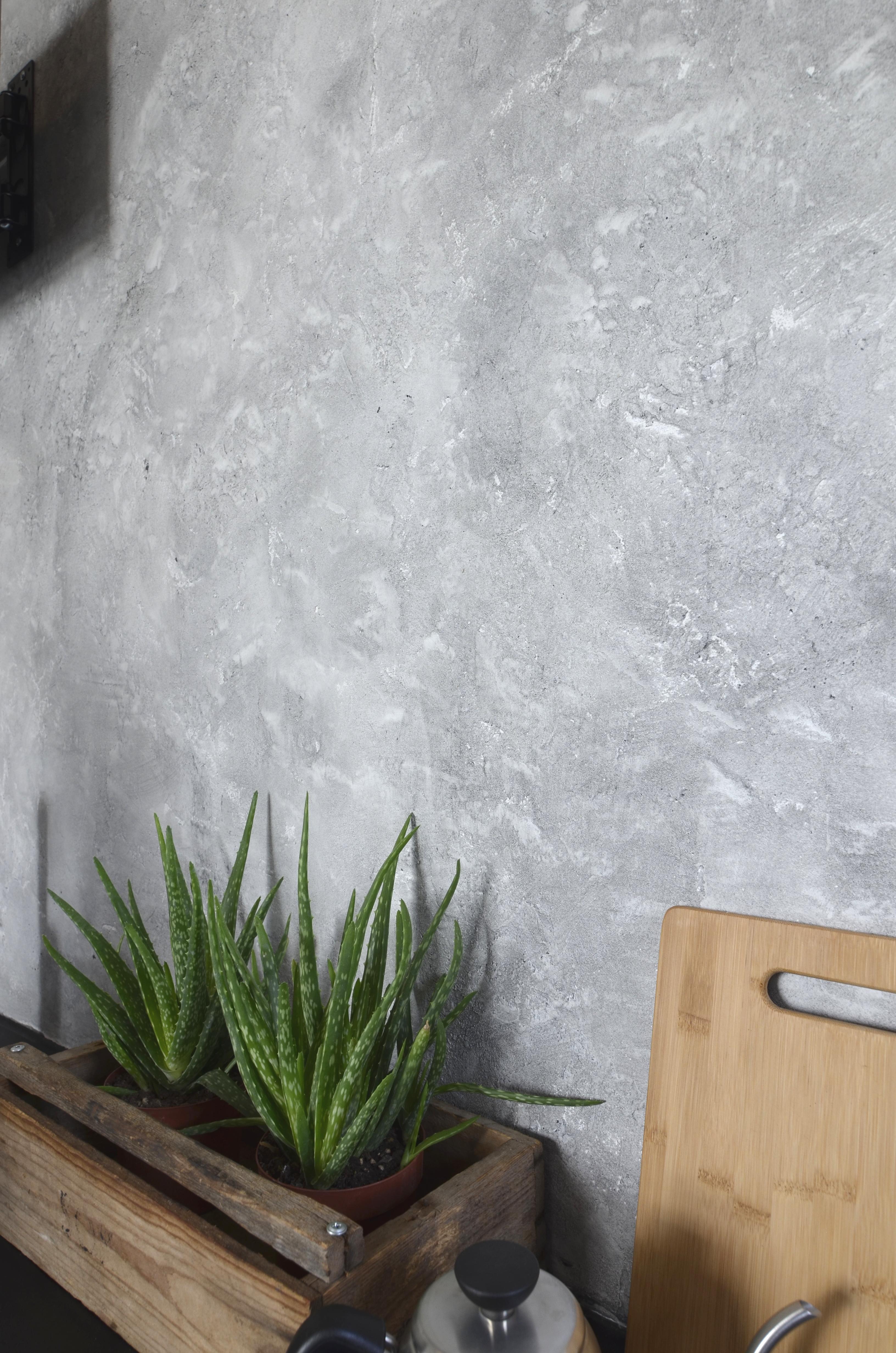 Novacolor Calcecruda - sisustuslaasti, Bianco + AP 6101 (2)