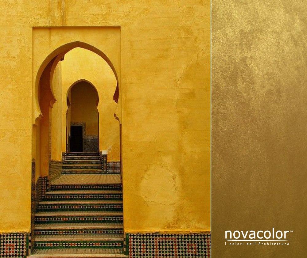 Novacolor Dune Opaco - efektimaali Gold - kulta