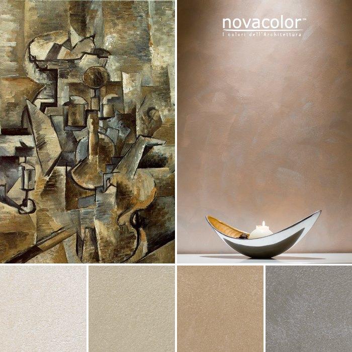 Novacolor Dune Opaco - efektimaali, hiekan sävyjä