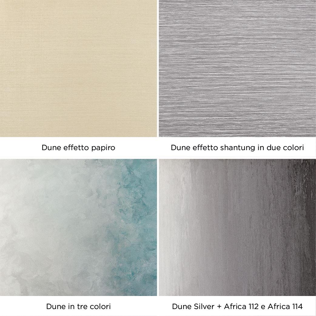 Novacolor Dune - sisustusmaali, eri tekniikoita