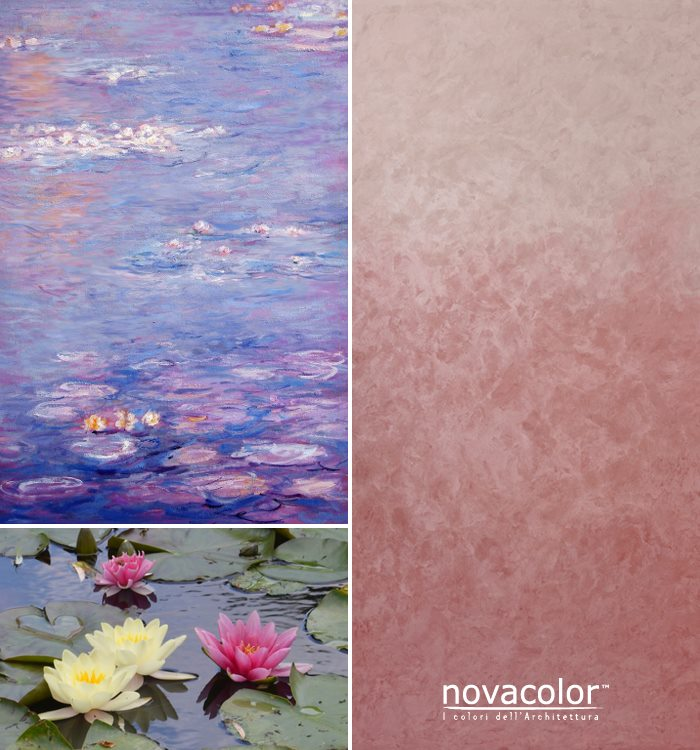 Novacolor Dune - sisustusmaali liukuväri, pinkki - vaalea