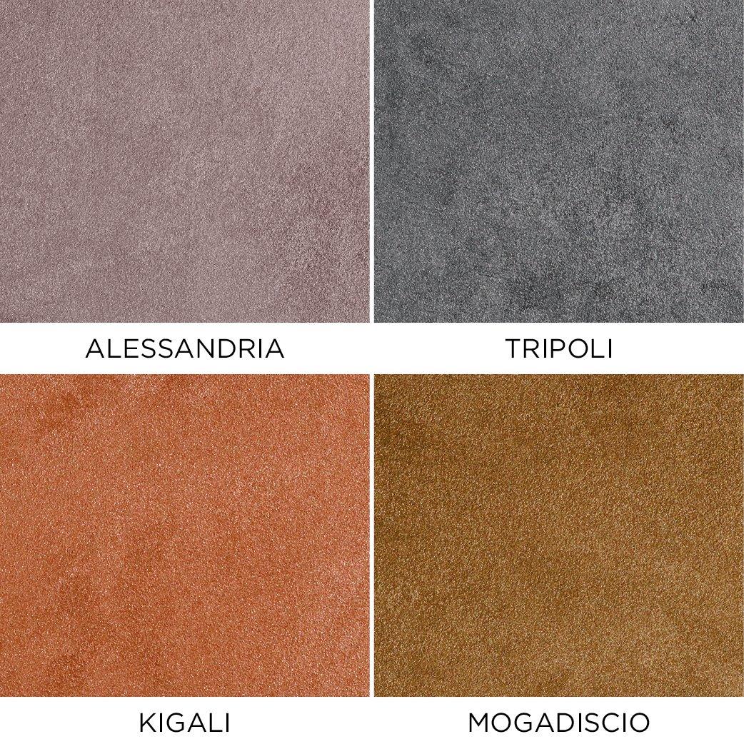 Novacolor Metallics Africa - efektimaali Alessandria-Tripoli-Kigali-Mogadiscio