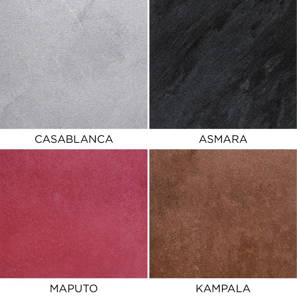 Novacolor Metallics Africa - efektimaali Casablanca-Asmara-Maputo-Kampala