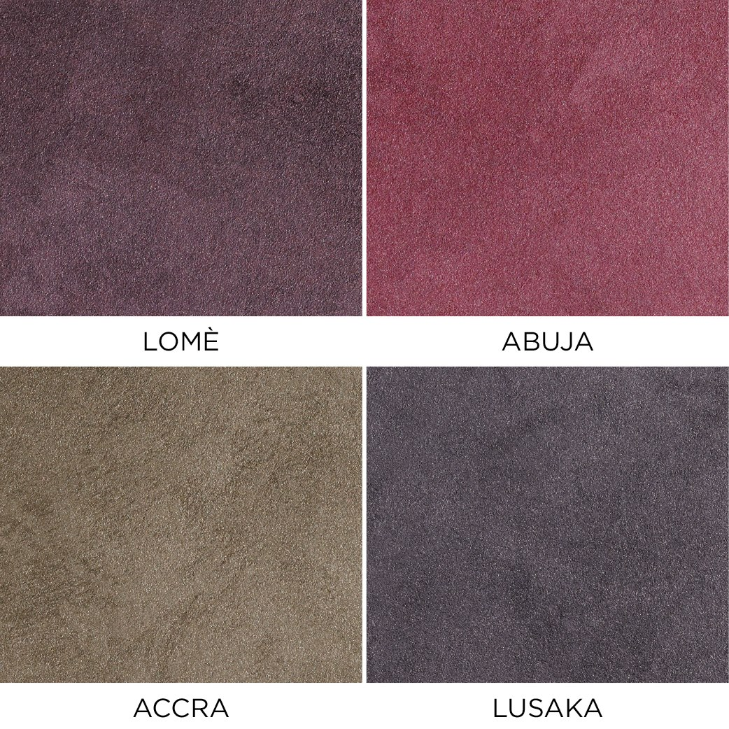 Novacolor Metallics Africa - efektimaali Lome-Abuja-Accra-Lusaka