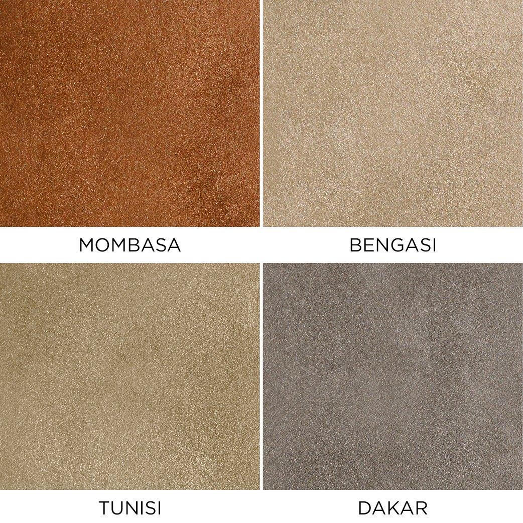 Novacolor Metallics Africa - efektimaali Mombasa-Bengasi-Tunisi-Dakar