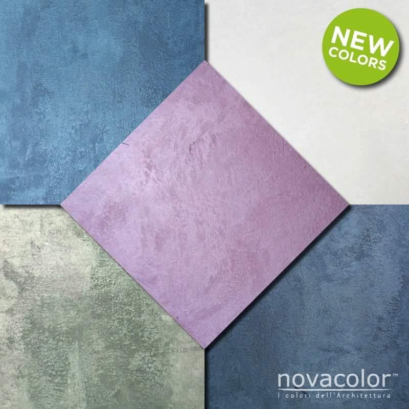 Novacolor Metallics Africa - efektimaali New Colors