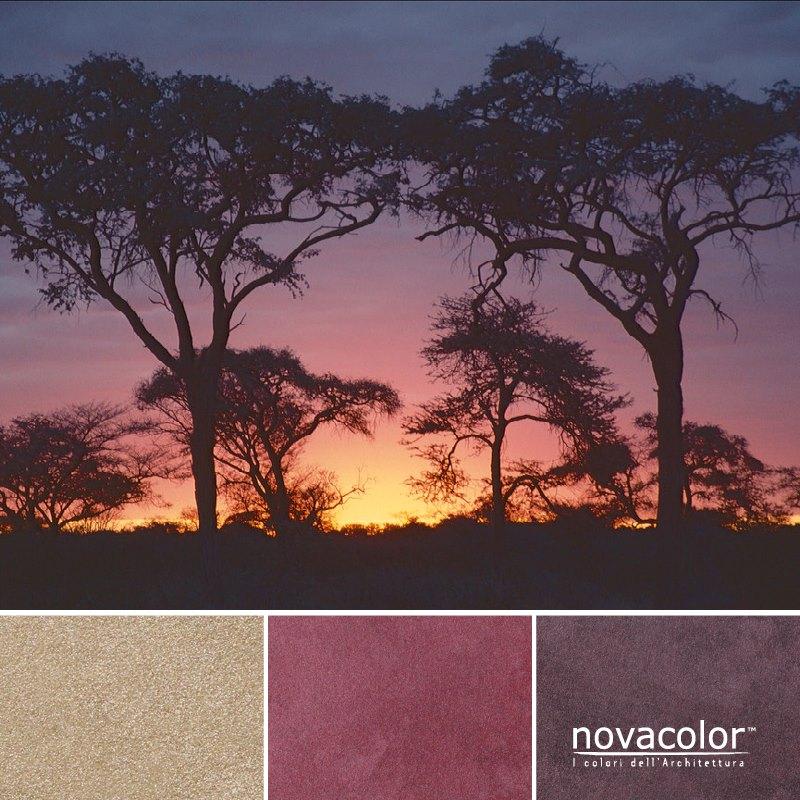 Novacolor Metallics Africa - efektimaali
