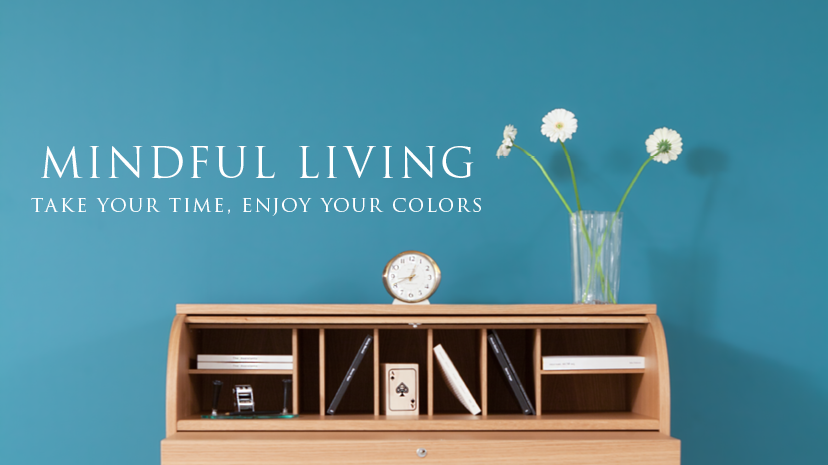 Novacolor Mindful Living, Take your time, enjoy your colors