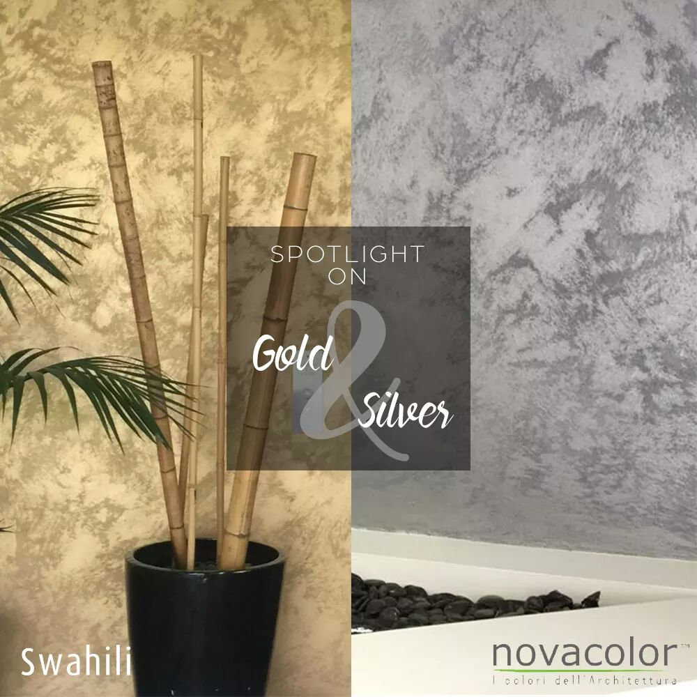 Efektimaali Novacolor Swahili Gold and Silver