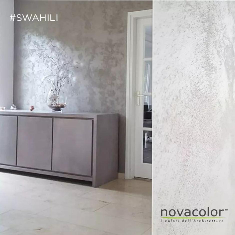 Novacolor Swahili - sisustusmaali, Extra white