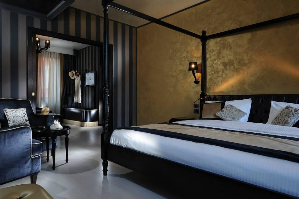 Novacolor Swahili - sisustusmaali, Gold - kulta, hiekkamaali, hotellihuone