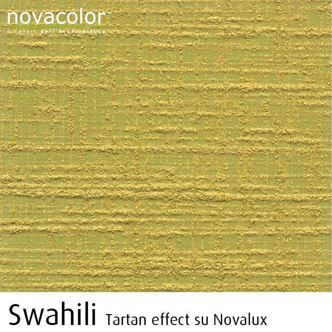 Novacolor Swahili -sisustusmaali, Tartan efekti