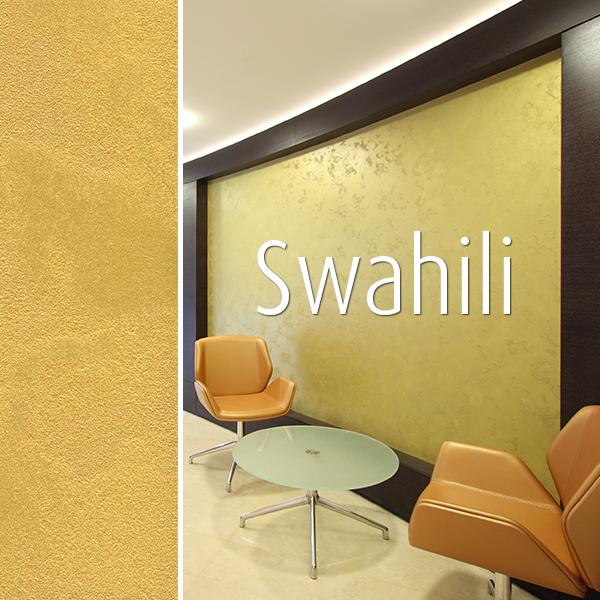 Novacolor Swahili -sisustusmaali, aula tilassa