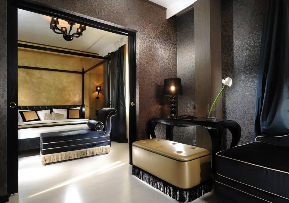 Novacolor Swahili -sisustusmaali, hotellihuone
