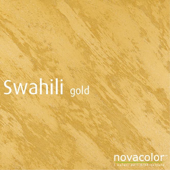 Novacolor Swahili -sisustusmaali, kulta