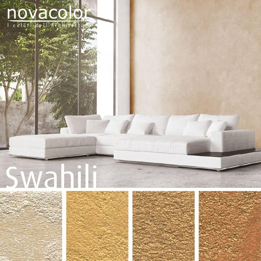 Novacolor Swahili -sisustusmaali, olohuone