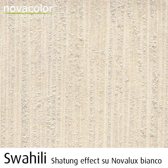Novacolor Swahili -sisustusmaali, raita efekti