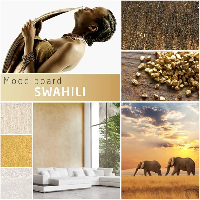 Novacolor Swahili -sisustusmaali