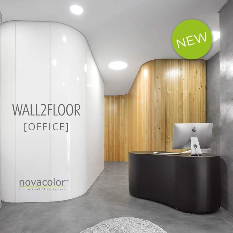 Novacolor Wall2Floor -mikrosementti OFFICE