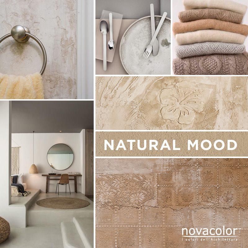 Novacolor natural mood minerals sisustuslaastit