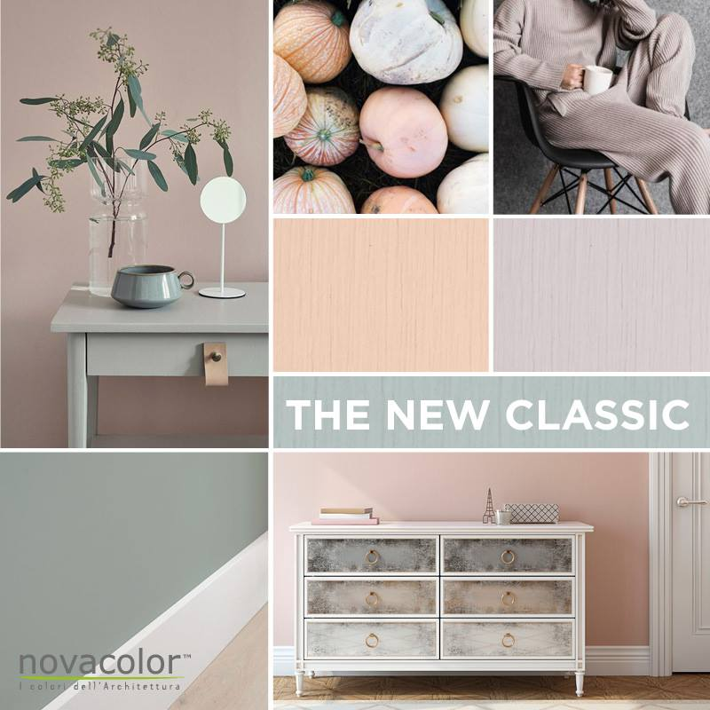 Novacolor Minerals -sisustusmaalit Limepaint Era A Pennello