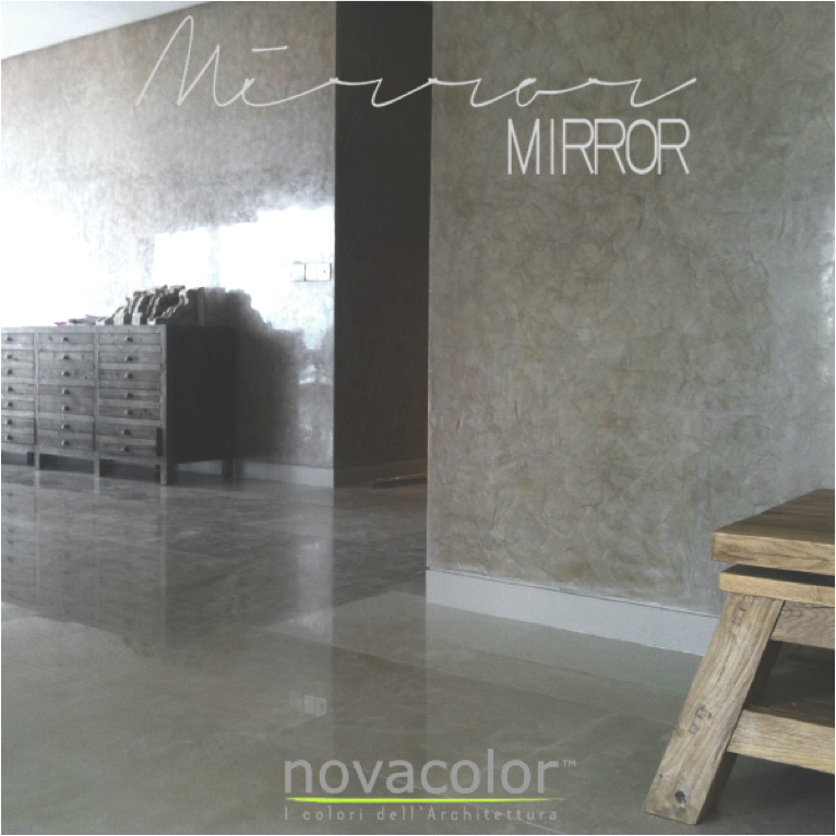 NOVACOLOR MIRROR STUCCOLAASTI
