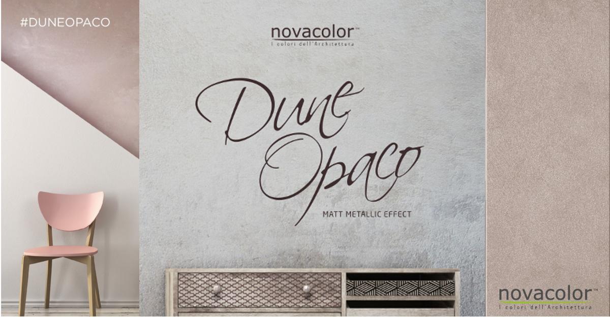 Novacolor Dune Opaco efektimaali etusivu