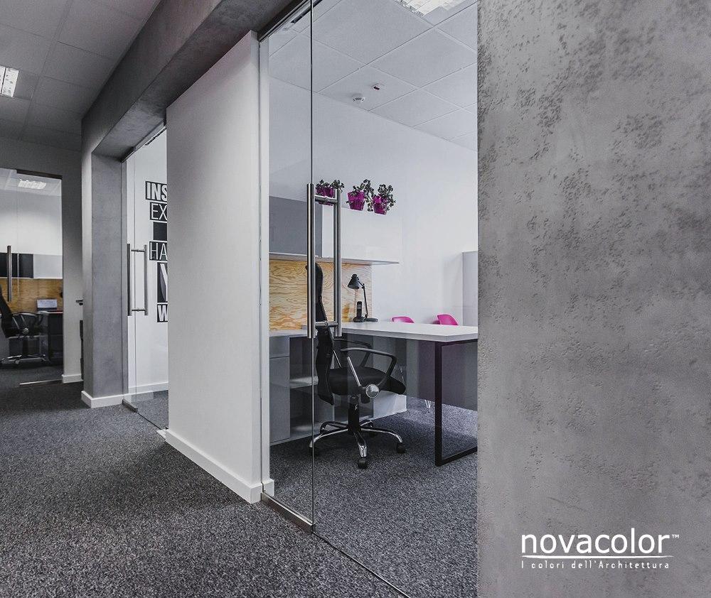 Novacolor MARMUR sisustuslaasti harmaa betoni