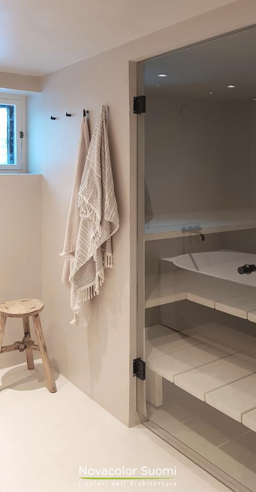 Novacolor Wall2Floor - mikrosementti W2F 027 sauna