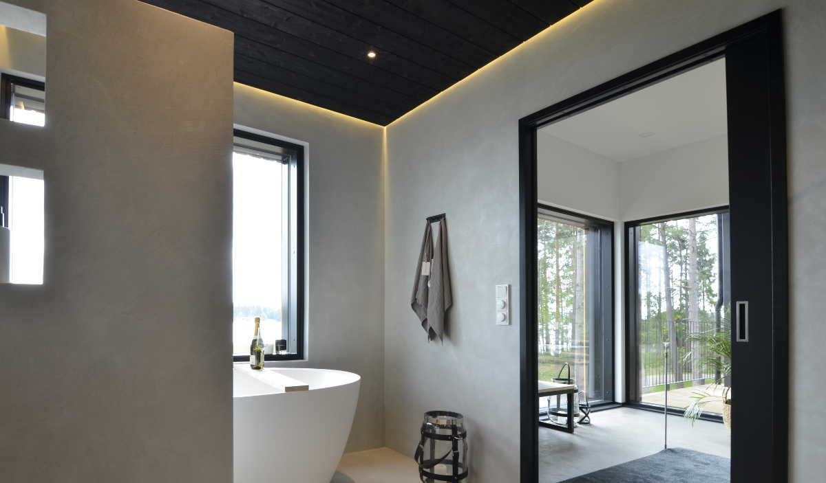 Wall2Floor mikrosementti kylpyhuone harmaa