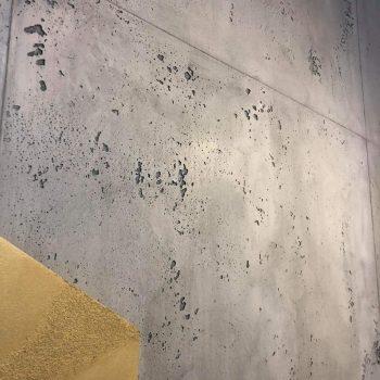 Novacolor Corner Espoo Suomenoja Concrete wall