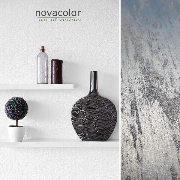 novacolor-swahili-silver-hopea-efektimaali-hiekkamaali-sisustusmaali-lipasto-olohuone-vaasi-hylly-s